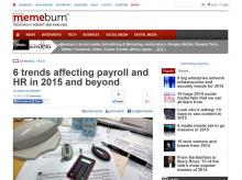 6 trends affecting payroll and HR in 2015