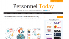 Five trends to watch in HR recruitment in 2015